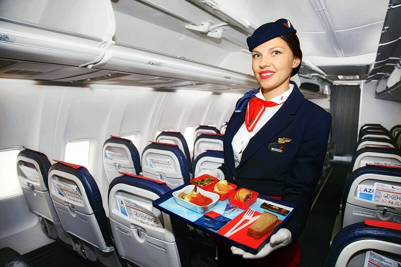 Питание на борту AZUR air