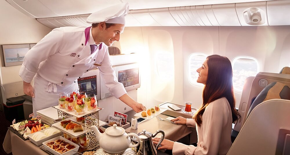 «Турецкие Авиалинии» — питание на борту самолета