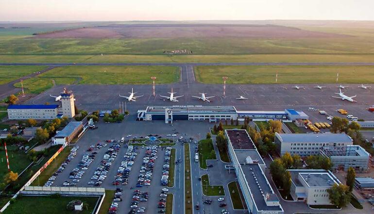Вылет из Аэропорта Оренбург