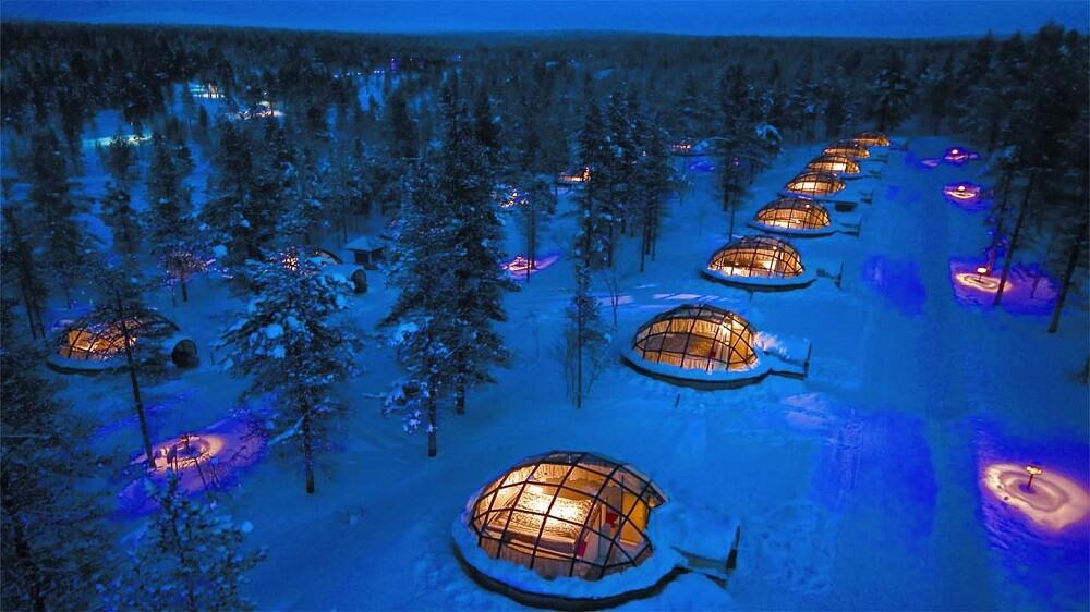 Kakslauttanen Arctic Resort (Финляндия)