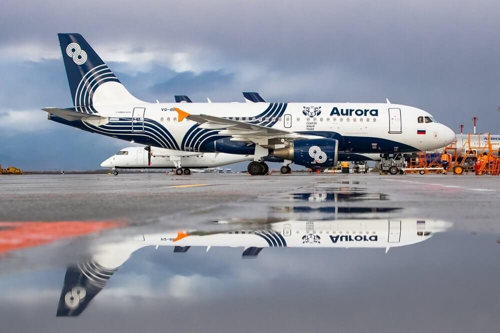 Авиакомпания Аврора онлайн регистрация