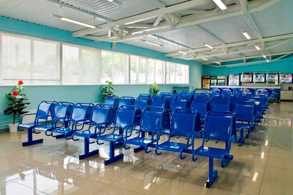 Залы ожидания в аэропорту Спиченково