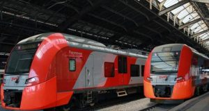 Поезд Ласточка