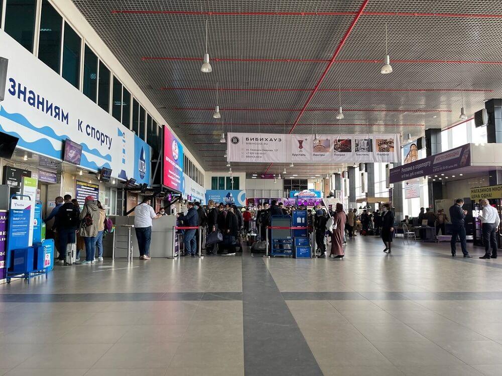 Терминал аэропорта Уйташ